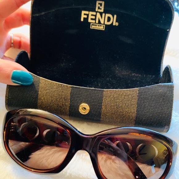 dda3ee7b4a2 Fendi Accessories - Vintage Fendi Tortoise Sunglasses